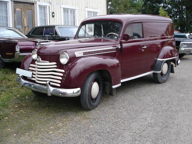 1950 Opel Olympia 1950