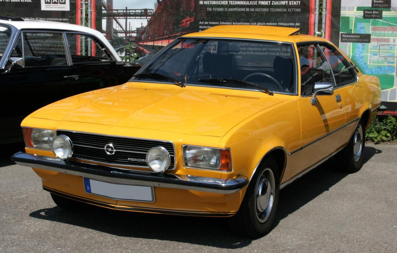 Opel Rekord E Wiring Diagram
