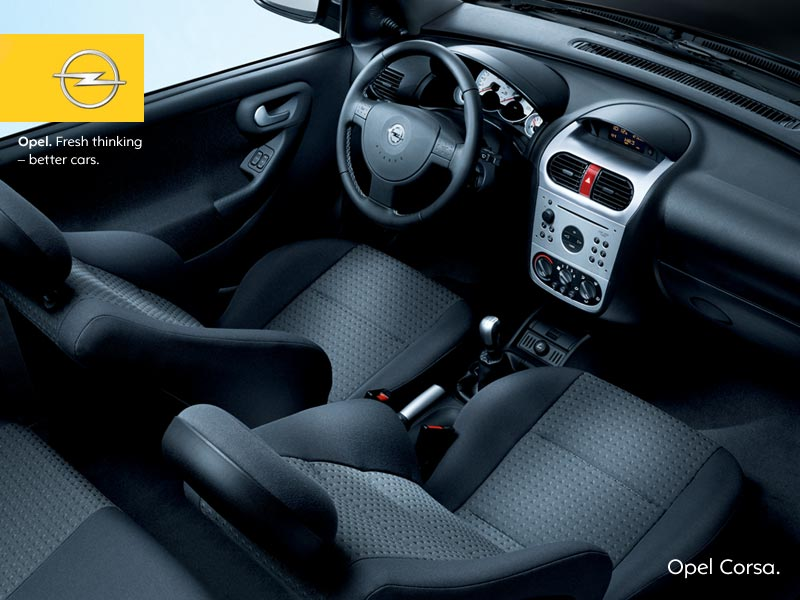 Opel corsa c for Opel corsa c interieur
