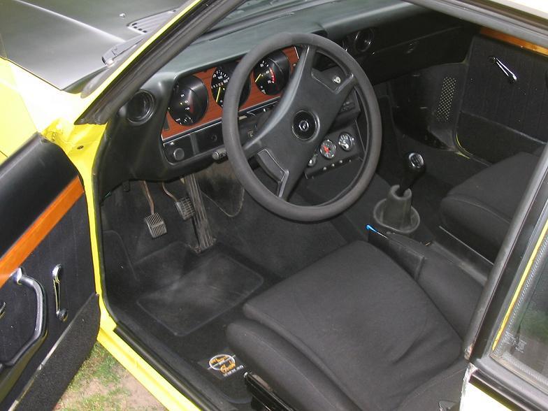Opel Manta Interior. Opel Manta A