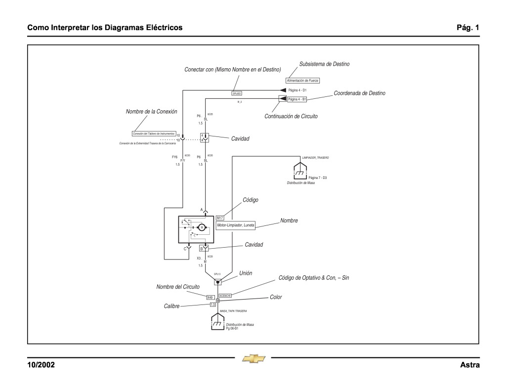 Astra Wiring Diagrams Spanish Pdf  9 6 Mb