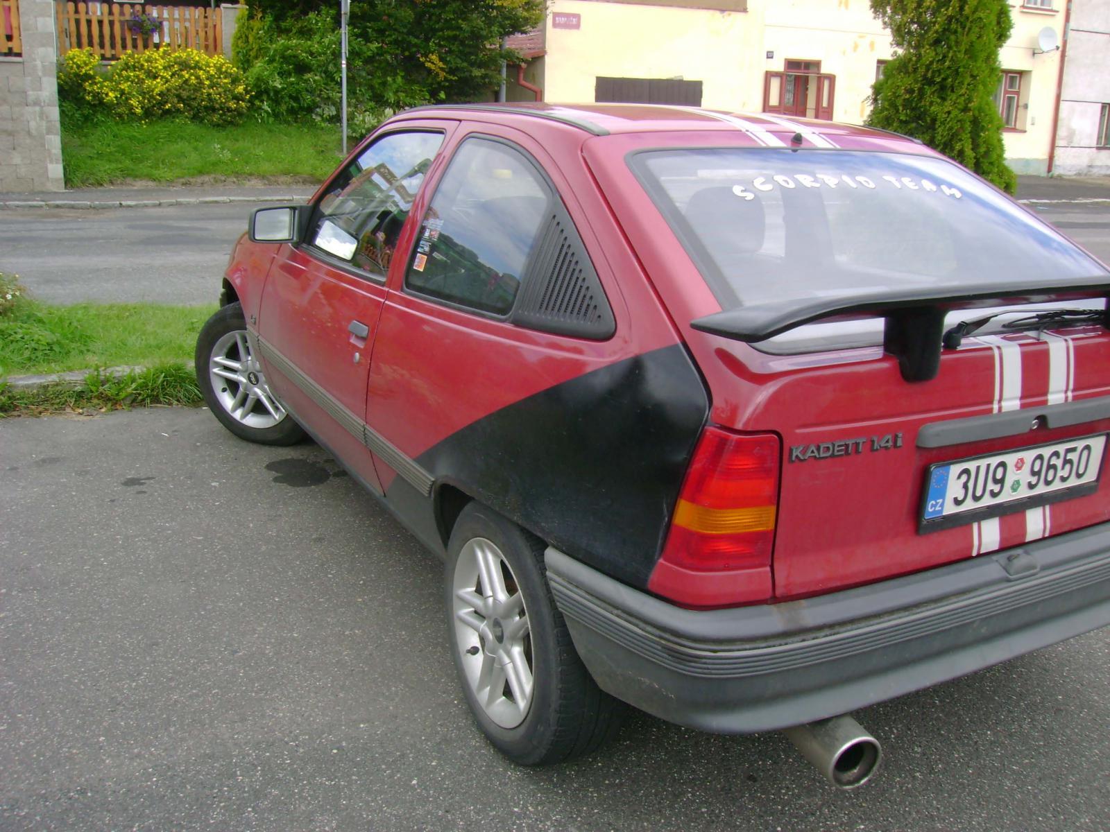 Car detail - Opel Kadett E 1.4