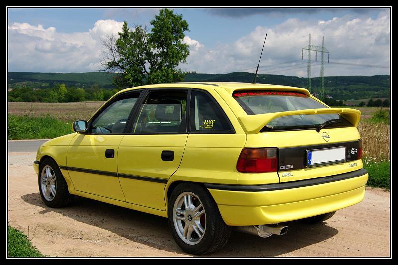 ���� Opel Astra ancien essence